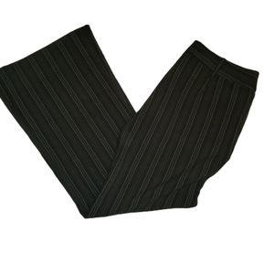 Heart and Soul pants, black with pinstripes, sze 7